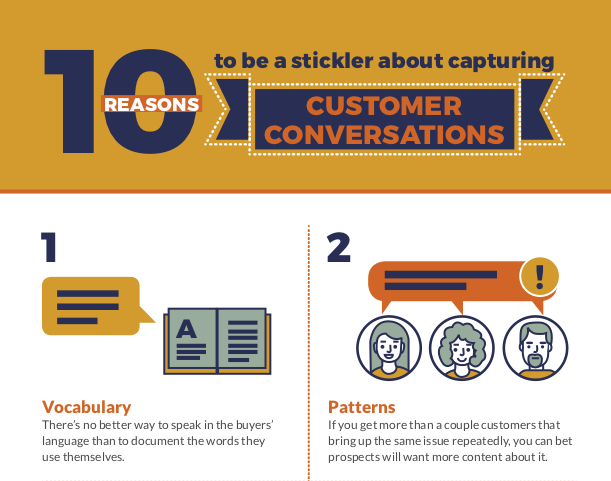 B2B customer conversations: don't leave them to chance